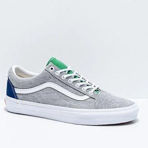 ✅ Vans Old Skool Coastal Grey & White Skate shoes